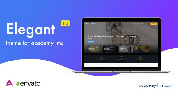 Elegant - Academy LMS Theme