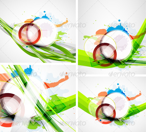 Grunge Paint Splash Backgrounds - Backgrounds Decorative