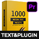 Text Presets - Premiere Studio Plugin - VideoHive Item for Sale