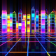 City Colorful Glowing - VideoHive Item for Sale