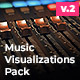 Audio Visualizations Pack / Audio Spectrum Pack - VideoHive Item for Sale