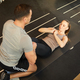 Fitness Coach Working with Woman in Gym - PhotoDune Item for Sale