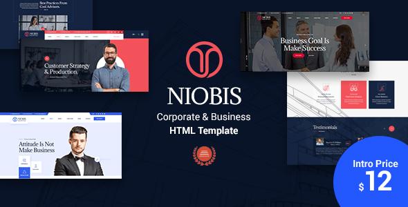 NioBis - Corporate Business Template