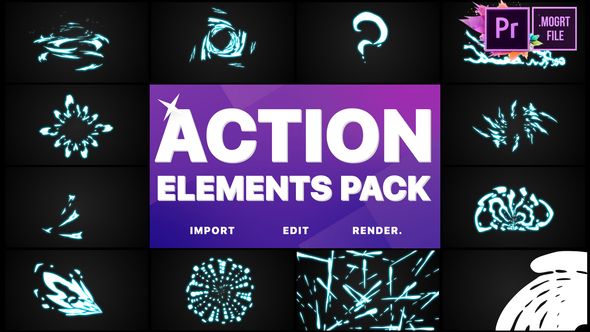 Action Elements | Premiere Pro MOGRT