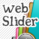 Web 2.0 Styled Slider with 9 Color Variations - GraphicRiver Item for Sale