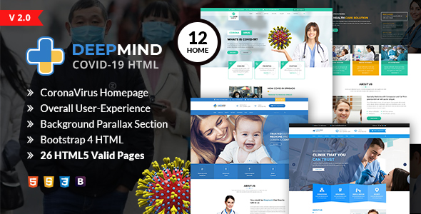 The Daily - News HTML Template - 1