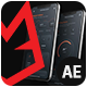 Phone App Presentation - Dark Mockup - VideoHive Item for Sale