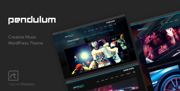 Free Download Pendulum - Beat Producers, DJs & Events Theme for WordPress Nulled Latest Version