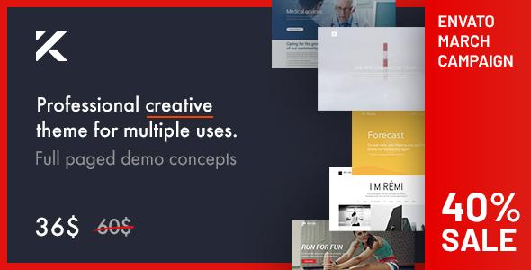 Good Kalium - Creative Theme for Professionals