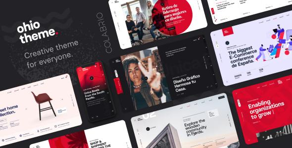 Fabulous Ohio - Creative Portfolio & Agency WordPress Theme