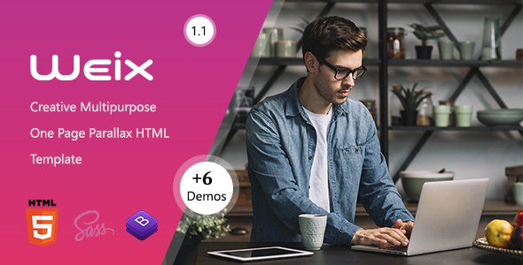 Weix - One Page Parallax