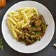 Beef stroganoff with mushrooms - PhotoDune Item for Sale
