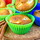 Cupcake and rye with apples on board - PhotoDune Item for Sale