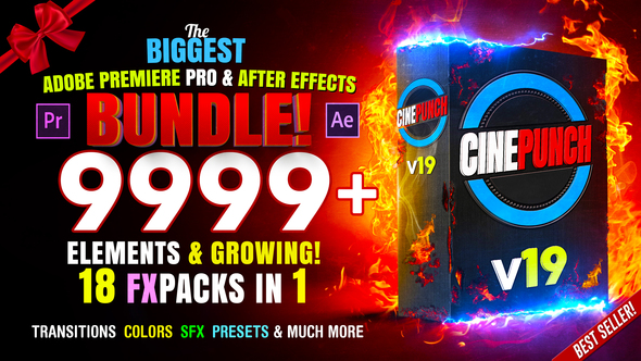 CINEPUNCH – 8000+ Assets  and Growing!