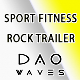 Sport Fitness Rock Trailer