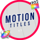 Motion Titles & Lower Thirds   FCPX - VideoHive Item for Sale