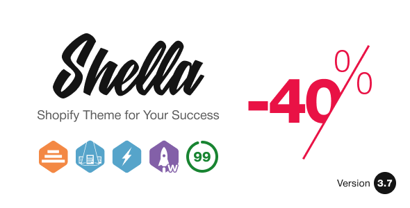 Top Shella - Multipurpose Shopify theme, fastest with the banner builder