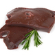 Liver fillet on white - PhotoDune Item for Sale