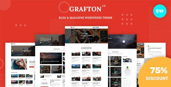 Grafton - Blog & Magazine WordPress Theme by KnightleyStudio