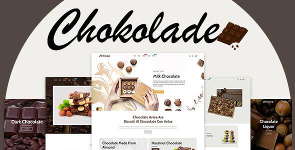 Chokolade | Chocolate Sweets & Candy And Cake Shopify Theme