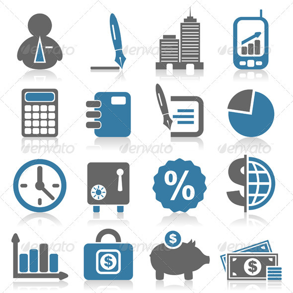 Icon business5 - Web Elements Vectors