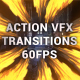 Action VFX Transitions | Premiere Pro MOGRT
