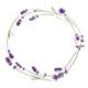 Wreath of lavender flowers - PhotoDune Item for Sale