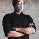 Coronavirus. Man wearing hygienic mask, infection, airborne, flu, pandemic, health, 2019-nCoV - PhotoDune Item for Sale