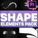 Shapes Collection | Premiere Pro MOGRT