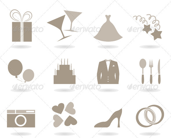 Wedding icon - Weddings Seasons/Holidays