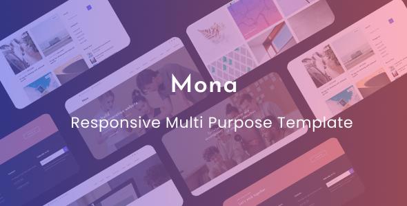 Excellent Mona - Responsive Multi Purpose Template