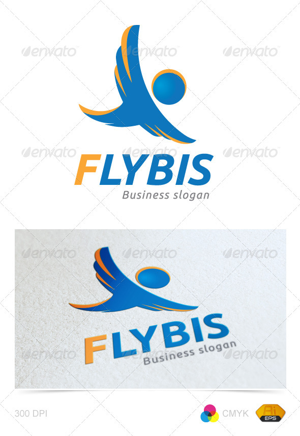 Flybis Business Logo - Animals Logo Templates