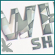 White Shatter Logo - VideoHive Item for Sale