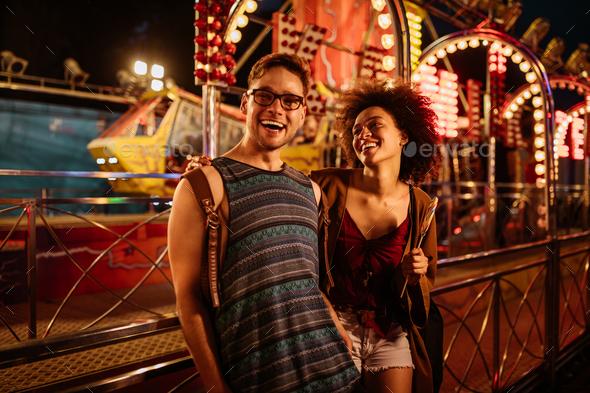 Festival romance - Stock Photo - Images