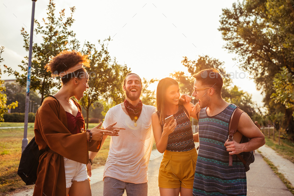 Outdoors festivities - Stock Photo - Images