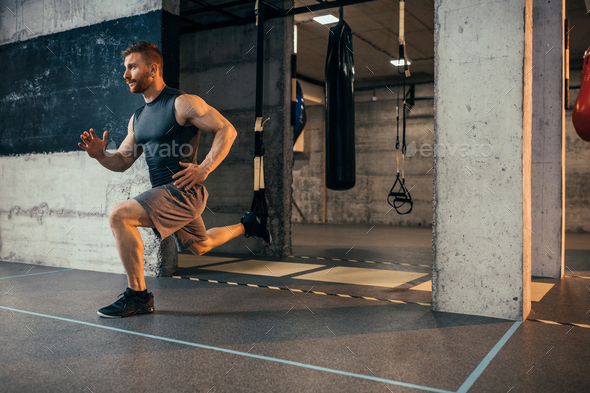 Building muscles - Stock Photo - Images