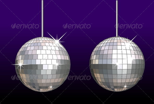 Disco Ball set - Man-made Objects Objects