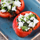 Sliced tomatoes with mozzarella and Basil - PhotoDune Item for Sale