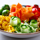 Buddha Bowl Vegetarian.Food or Healthy Diet concept. - PhotoDune Item for Sale