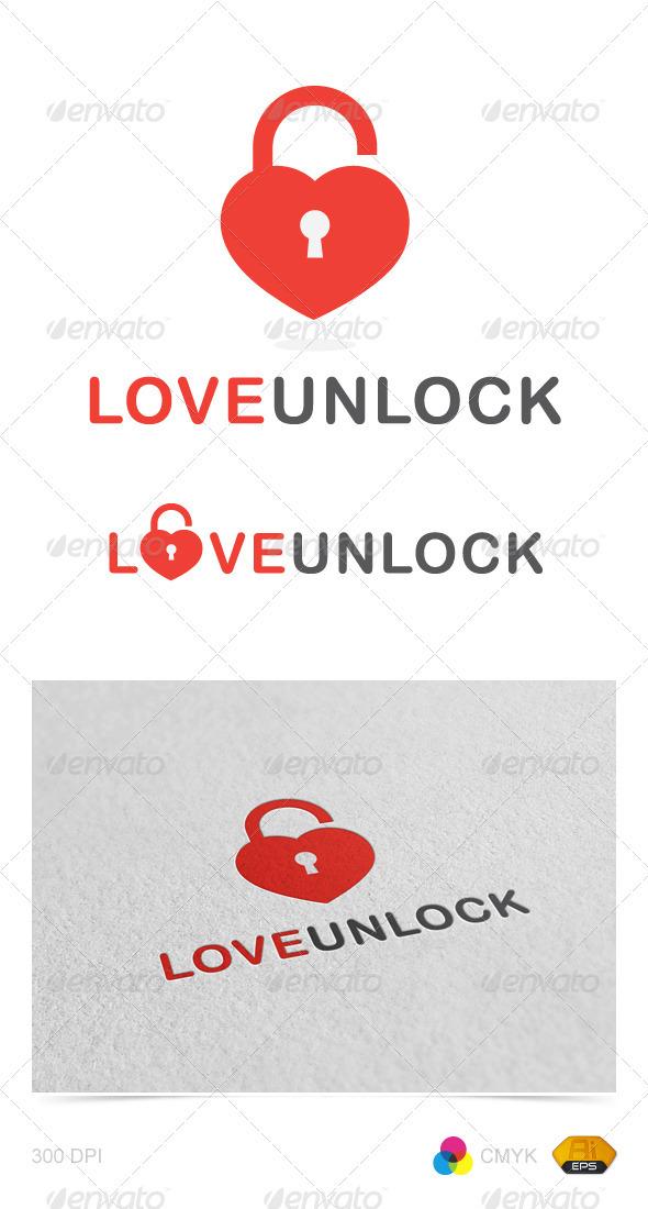 Love Unlock logo - Symbols Logo Templates