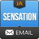 Sensation Email Template - ThemeForest Item for Sale