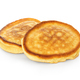 Delicious pancakes isolated on white background. American style. - PhotoDune Item for Sale