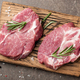 Raw pork steaks with rosemary and spices - PhotoDune Item for Sale