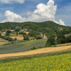 Rural landscape at summer near Gubbio, Italy - PhotoDune Item for Sale