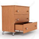 Open Close Drawer