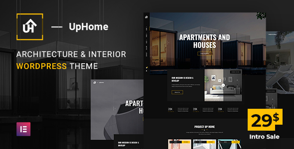 UpHome - Modern Architecture WordPress Theme