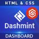 Dashmint -  Admin Dashboard HTML Template