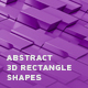Abstract 3D Rectangle Shapes - VideoHive Item for Sale