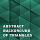 Abstract Background Of Triangles - VideoHive Item for Sale