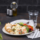 Grilled chicken breast with rice - PhotoDune Item for Sale